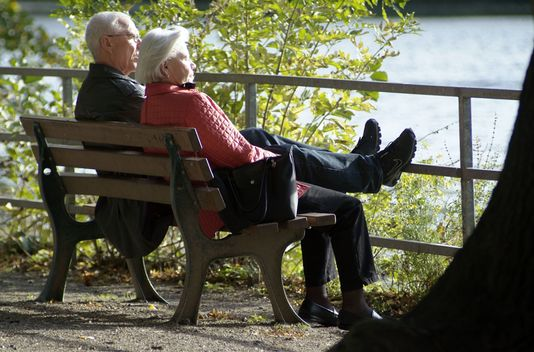 En 40 ans, l'espérance de vie a augmenté de 11,1 ans pour les hommes et 12,1 pour les femmes. [Alexander Basta  - AFP]