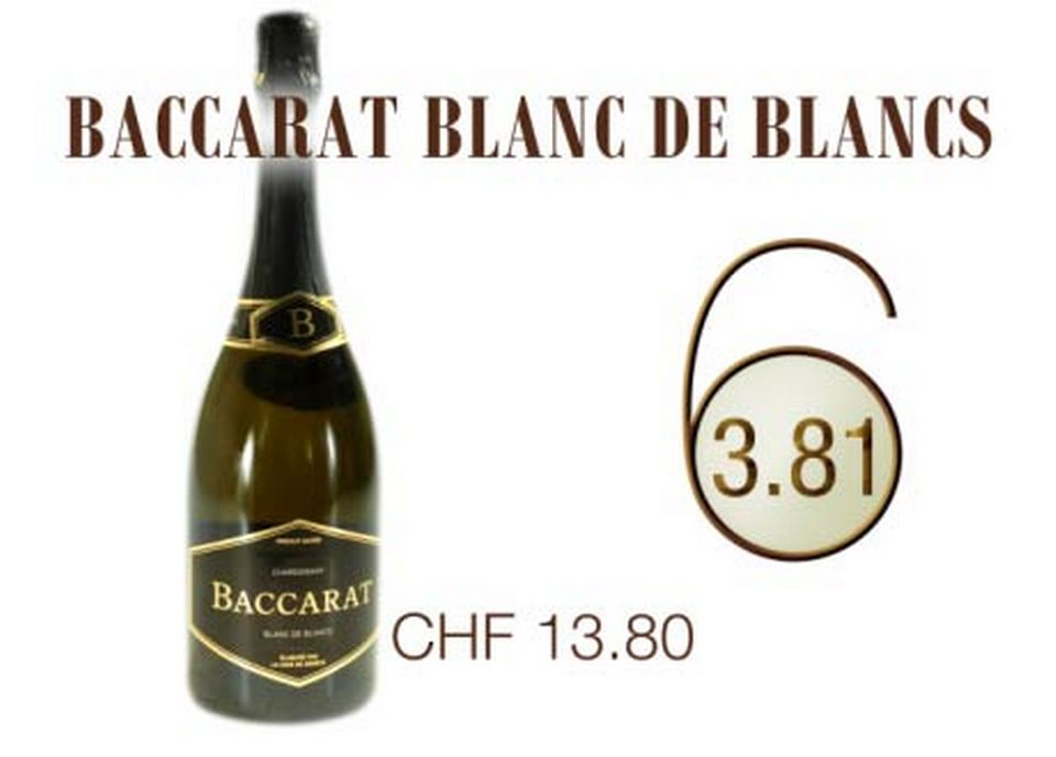 Baccarat Blanc de Blancs. [RTS]