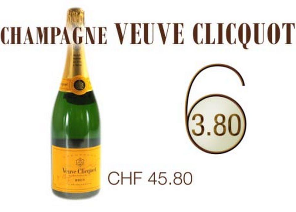 Champagne Veuve Clicquot. [RTS]