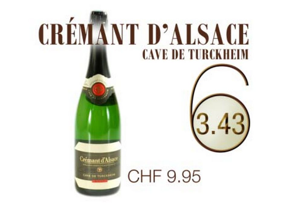 Crémant d'Alsace, cave de Turckheim. [RTS]