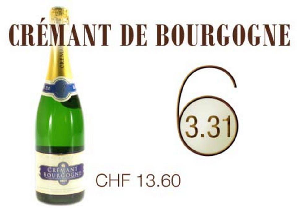Crémant de Bourgogne. [RTS]