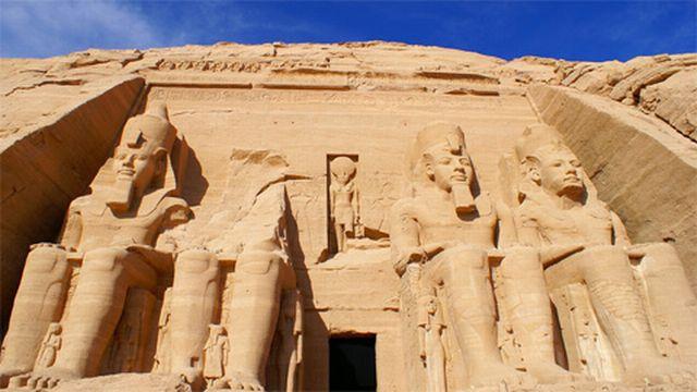Le temple d'Abou Simbel [Blogostef]