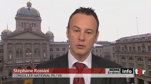 Initiative contre la fumée passive : entretien avec Stéphane Rossini, conseiller national PS / VS