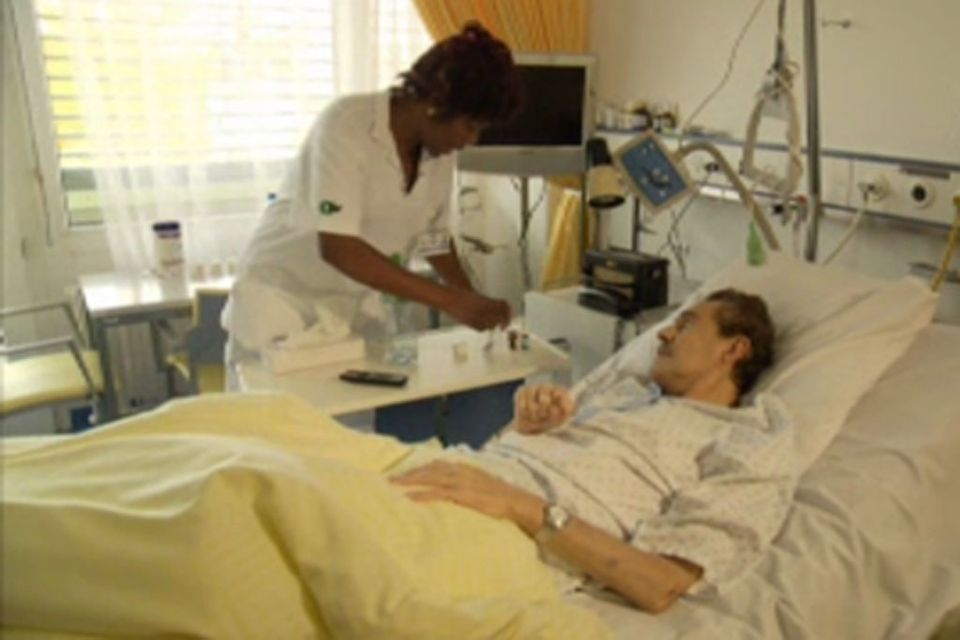 Neuf personnes sur dix meurent dans un établissement médical.