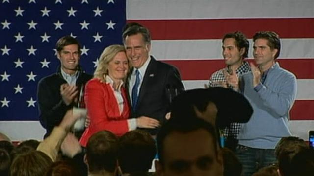 Le modéré Mitt Romney en tête dans l'Iowa