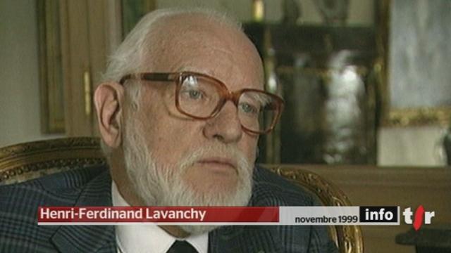 L'entrepreneur romand Henri-Ferdinand Lavanchy s'est éteint dans la nuit de mardi à mercredi à Cannes, à l'âge de 85 ans