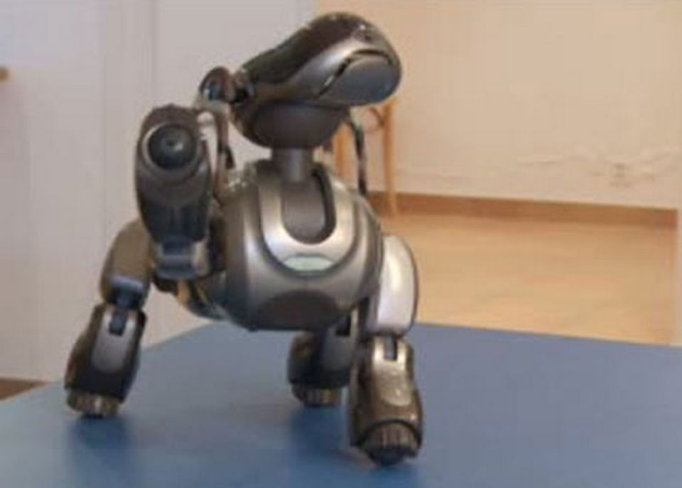 Un chien robot [RTS]