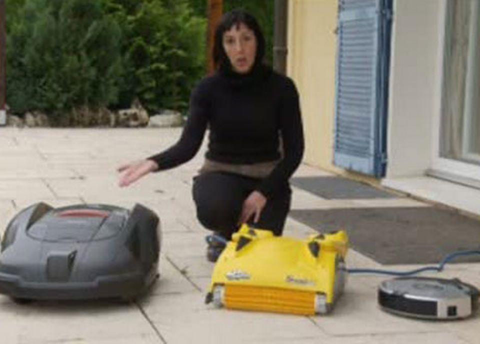 Mariama Schwab, une maman fascinée par les robots. [RTS]
