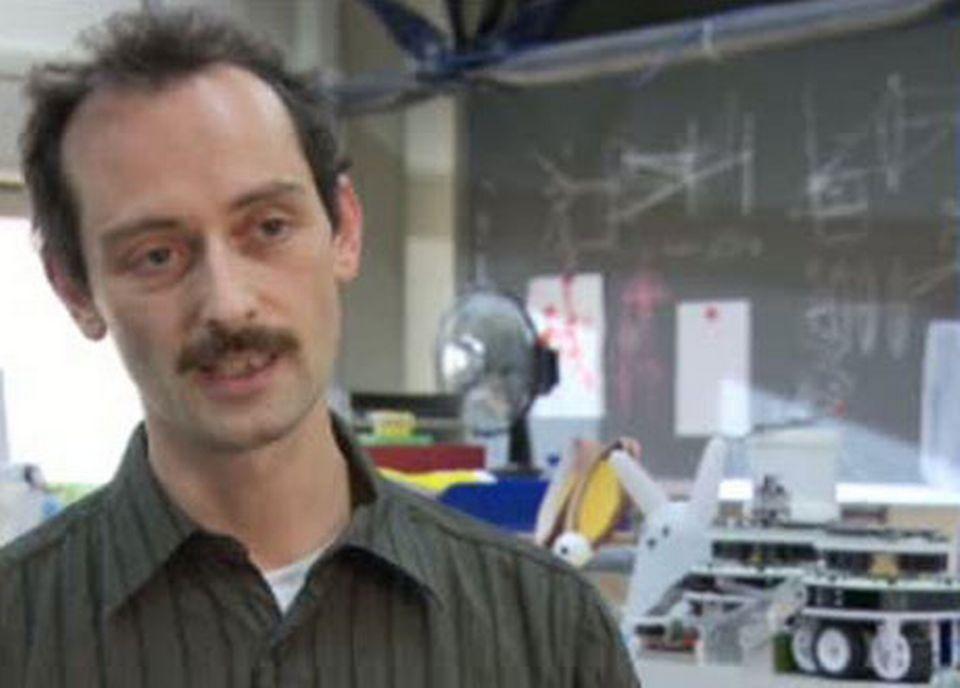 Francesco Mondada, de l'EPFL. [RTS]