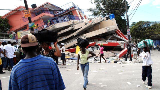 Haïti peine à se remettre du terrible séisme du 13 janvier 2010. [Thony Belizaire - AFP]