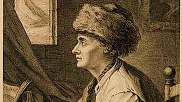 Rousseau gravure [J.B. Michel, 1756]
