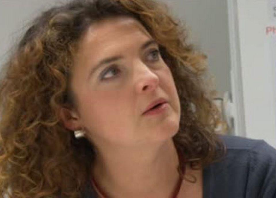 Valérie Bauwens, ethnographe. [RTS]