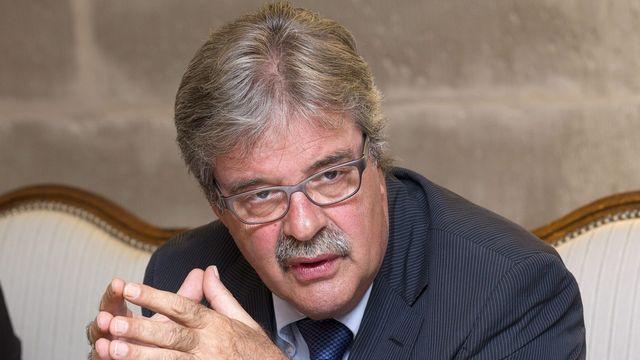 Pierre-François Unger, président du Conseil d'Etat genevois. [Salvatore di Nolfi - Keystone]