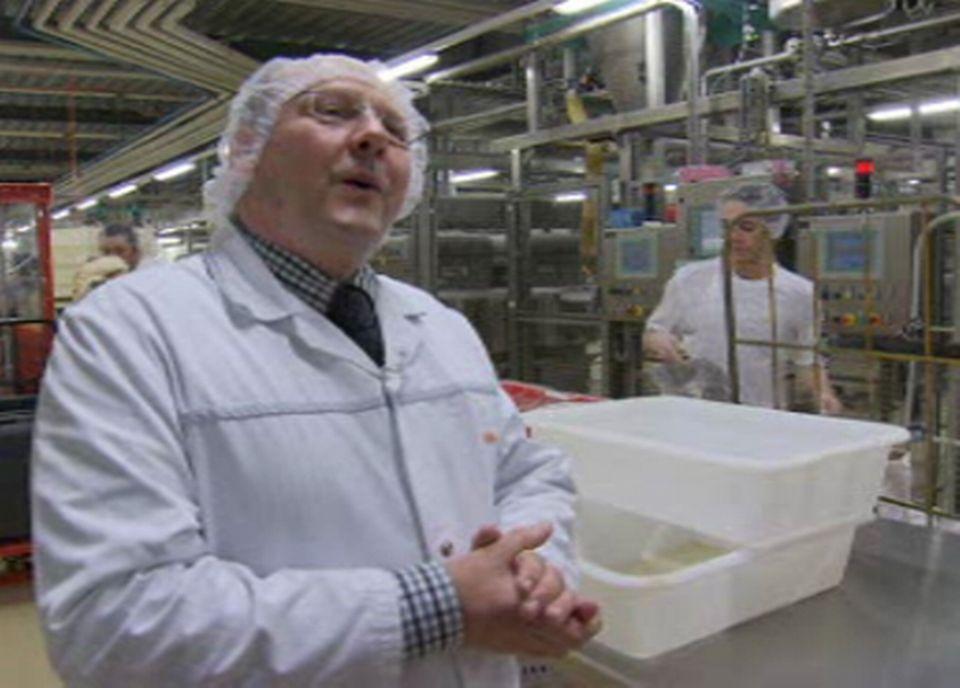 Benoît Hayoz responsable du département Boulangerie Pâtisserie de la Coop