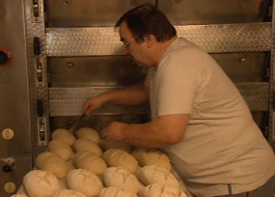 Jean Louis Mauron, boulanger