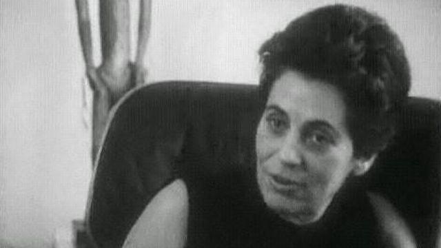 Françoise Giroud [TSR 1964]