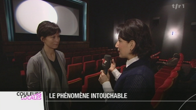 """VD: le film """"Intouchables"""" continue de remplir les salles de cinéma, une aubaine pour cette petite salle de Morges"""