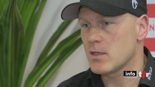 Ski alpin: interview de Didier Cuche suite à sa déclaration