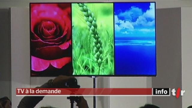 L'évolution des nouveaux téléviseurs permettra une grande interactivité avec internet
