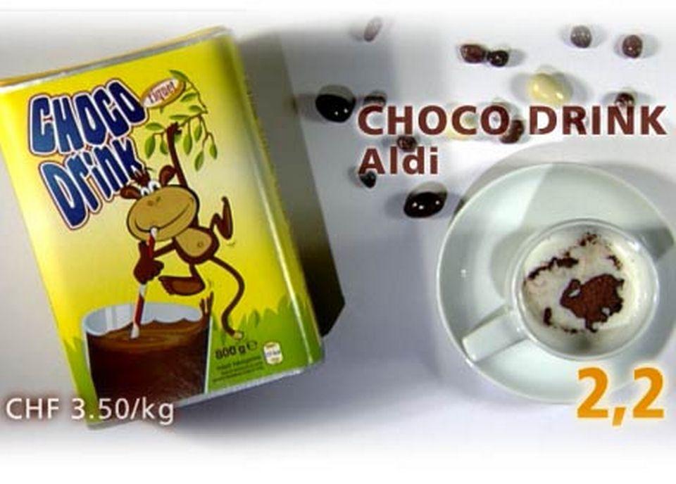 Choco Drink de chez Aldi [Daniel Bron/RTS]