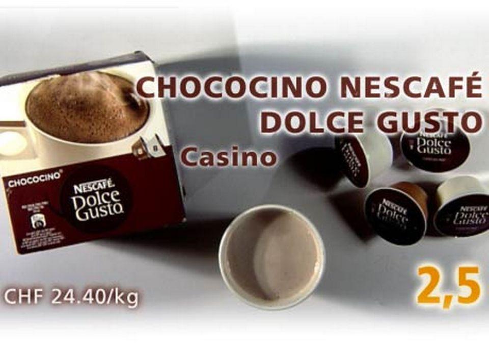 Capsules Nescafé Dolce Gusto, acheté chez Casino. [Daniel Bron/RTS]