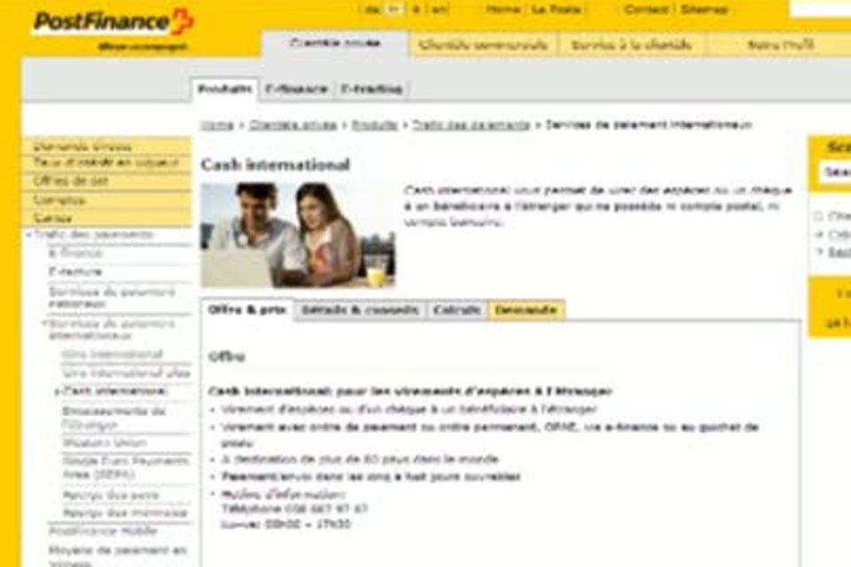 La Poste Suisse. [RTS]