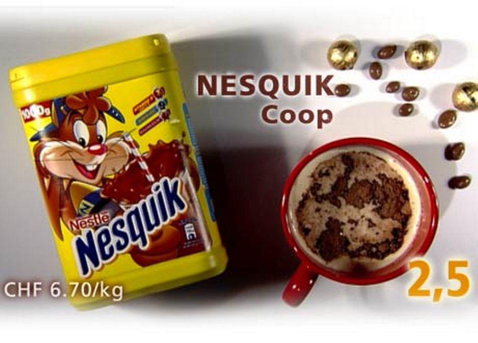 Nesquick, de Coop [Daniel Bron/RTS]