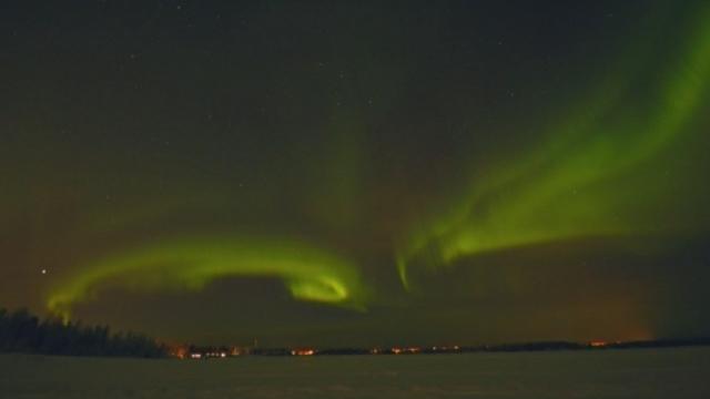 Séquences choisies - Magnifiques aurores polaires