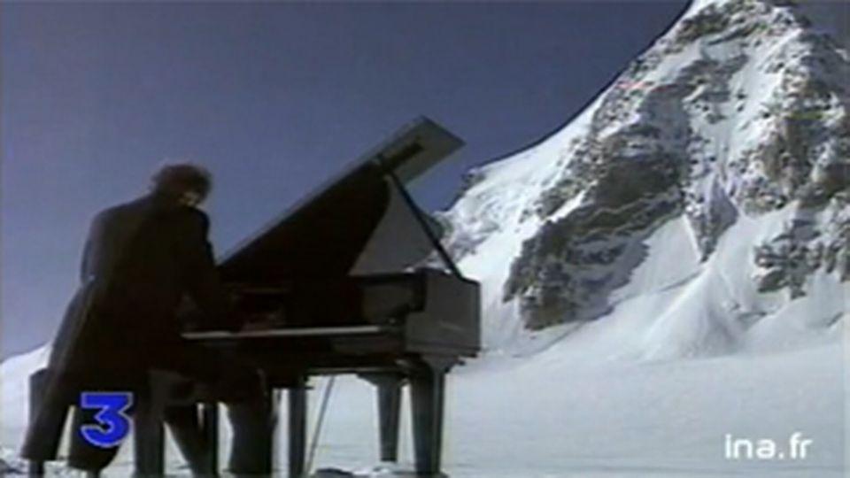 Concert pour la paix au sommet du Mont-Blanc - 21 juin 1996.