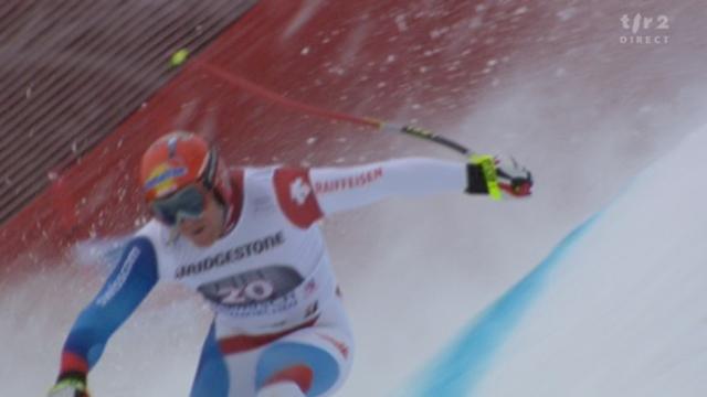 Ski alpin / descente de Garmisch-Partenkirchen (ALL): le trio de Suisses. no 18, Beat Feuz, le no 19 Didier Défago et le no 20 Didier Cuche. Seul ce derier convainc en signant le meilleur chrono!