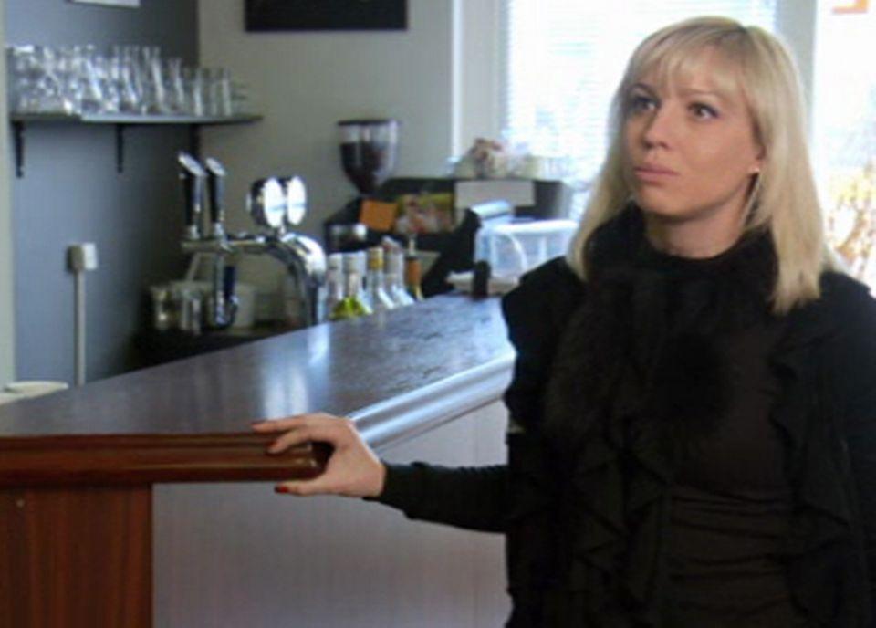 Céline Gazzetto, restauratrice, café Chappuis [RTS/Capture d'écran]
