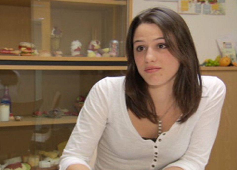 Lucie Barras, diététicienne diplômée HES [RTS/Capture d'écran]
