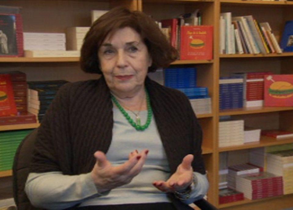 Michèle Stroun, Responsable Editions Metropolis [RTS/Capture d'écran]