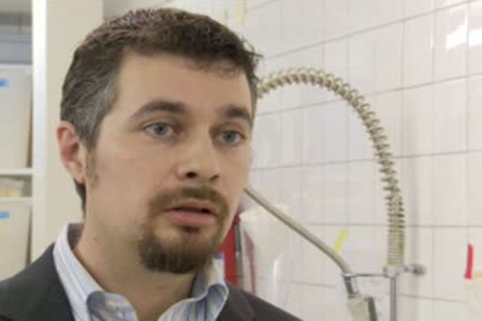 Vincent Perret, chimiste et spécialiste en toxicologie industrielle [RTS/Capture d'écran]