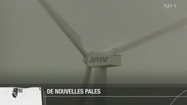BE: les éoliennes de Mont-Crosin seront remplacées par des turbines sept fois plus productives