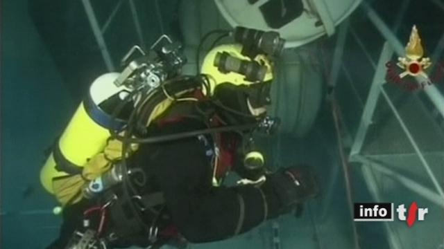 Italie: les sauveteurs cessent leurs recherches à bord du Costa Concordia