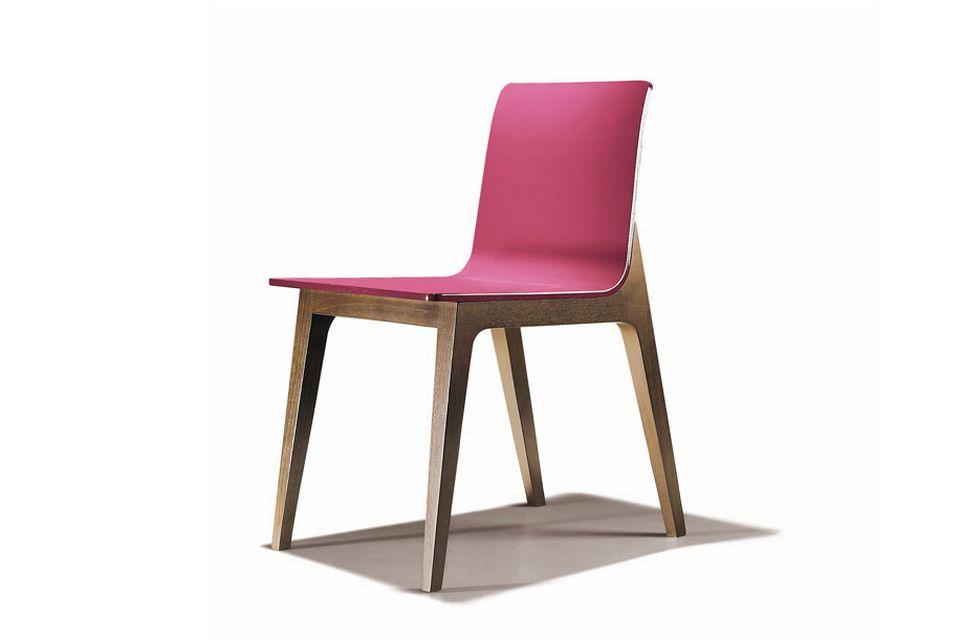 Chaise conçue pour le fabricant américain Bernhardt Design (2004). [Philippe Cramer]