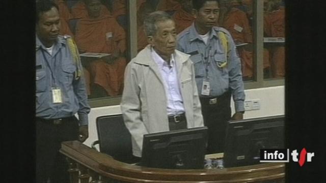 Cambodge : l'ancien khmer rouge Duch a été condamné en appel à la prison à perpétuité par le tribunal spécial soutenu par les Nations Unies