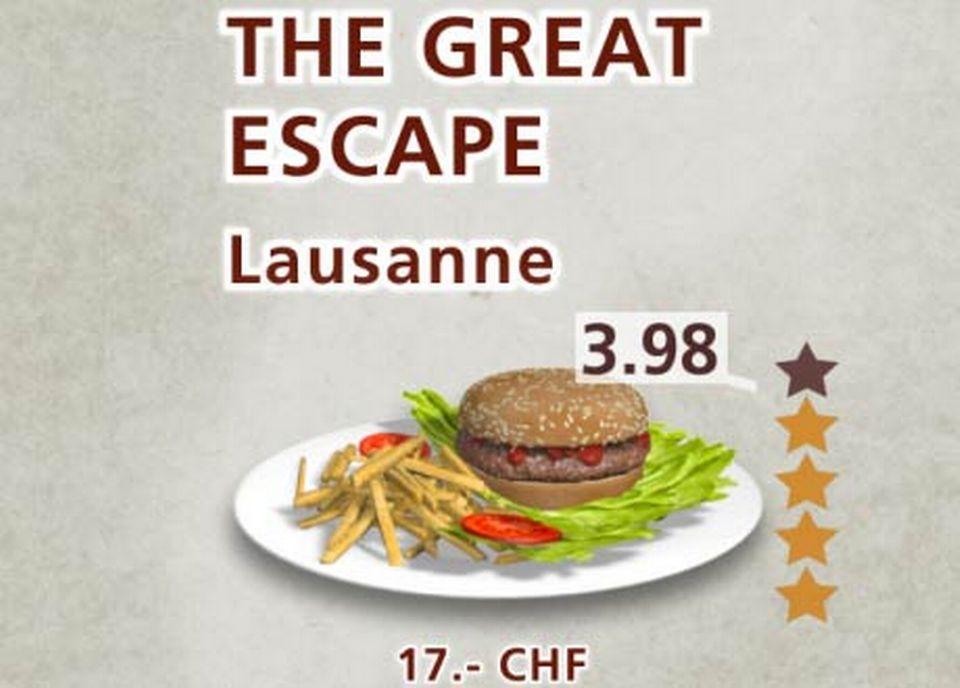 The Great Escape [RTS/Capture d'écran - RTS]