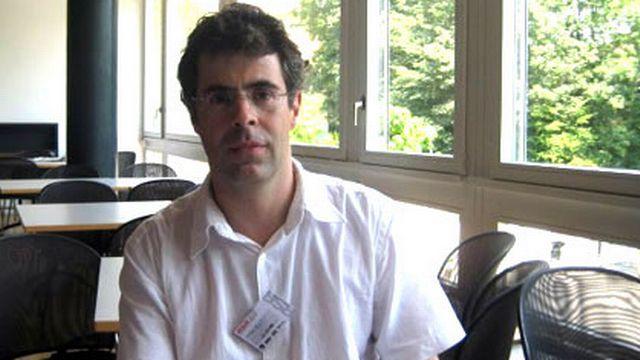 Christophe Ballif, professeur à l'EPFL, directeur du laboratoire de photovoltaïque