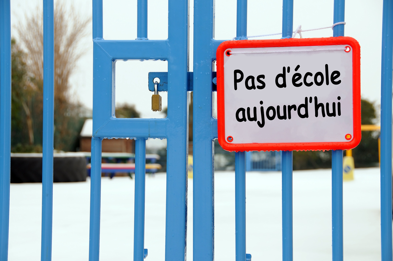 Ecole Fermee Entrainement Reporte Bonjour La Commission Scolaire