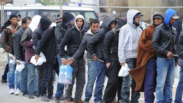 Flux migratoire Suisse  [CIRO FUSCO - Keystone]