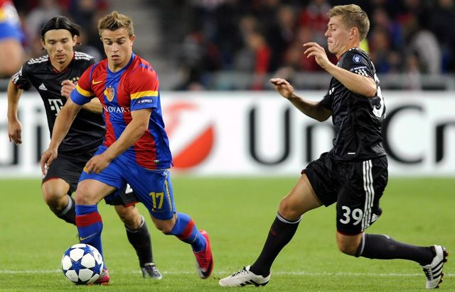 En septembre 2010, Shaqiri avait donné le tournis au Bayern. Bis repetita dans 15 jours? [Walter Bieri - Keystone]