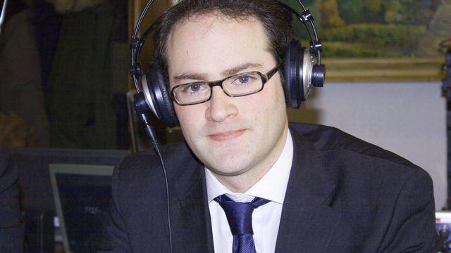 Mathieu Blanc (PLR). [Stefania Malorgio - RTS]