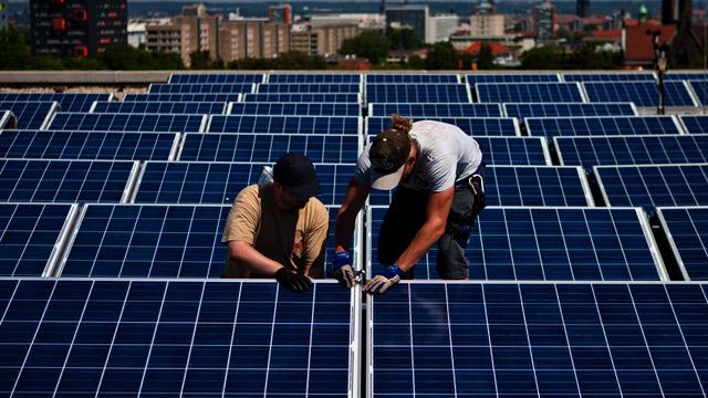 Les nouveaux métiers du développement durable [Keystone]