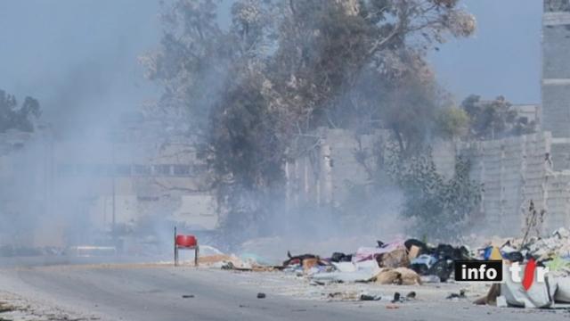 Libye: la Fondation suisse de déminage continue de désamorcer des engins explosifs à Syrte