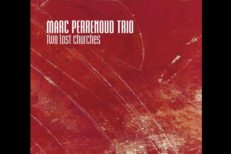 """La pochette de l'album 2012 Marc Perrenoud Trio: """"Two lost churches"""".  [DR]"""