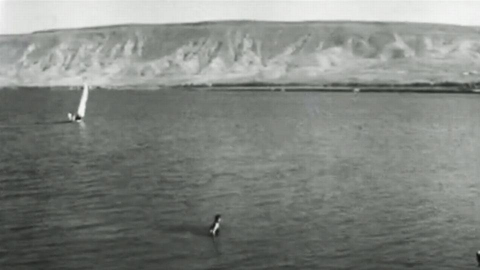 Le lac de Tibériade en 1965. [INA]