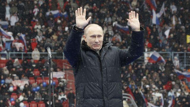 Vladimir Poutine est le favori de la présidentielle russe qui se tient le 4 mars prochain. [Sergei Karpukhin - Reuters]