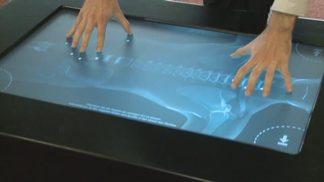 Nouvelles technologies: la table interactive